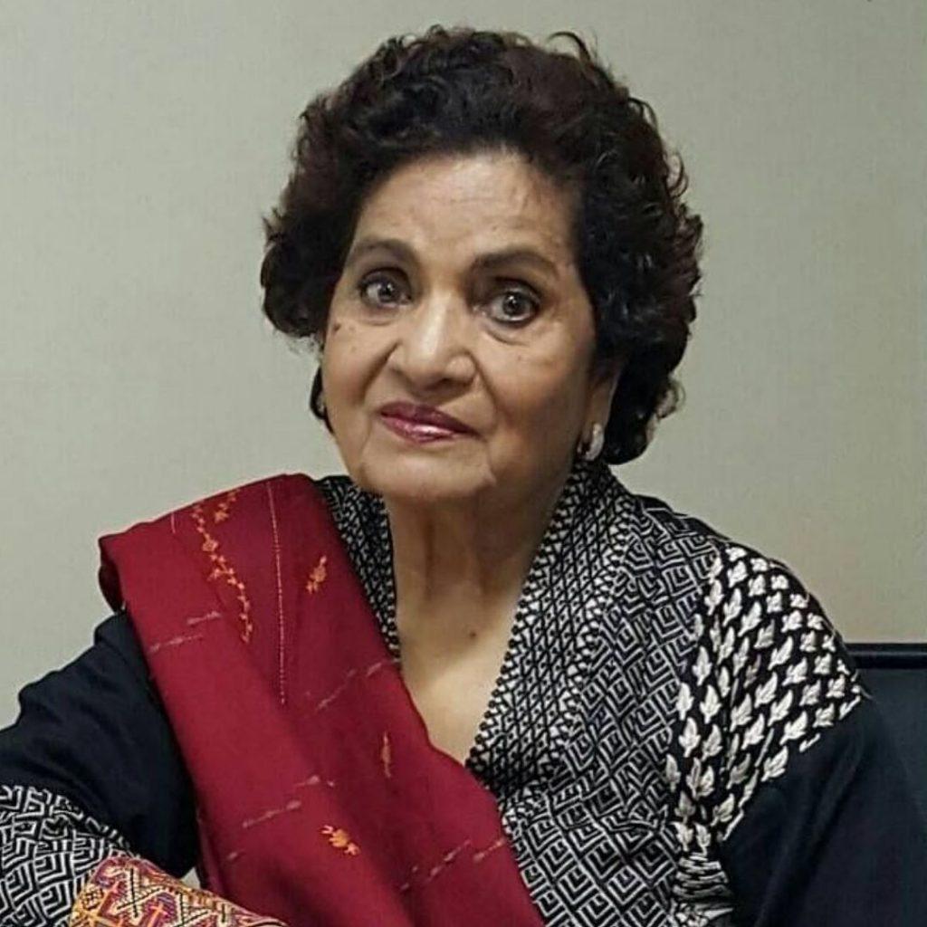 Renowned Pakistani Playwright Haseena Moin Passes Away