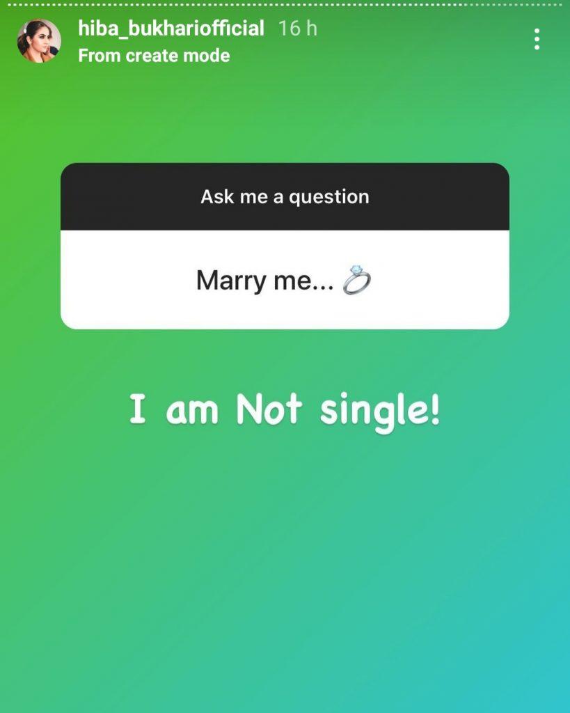 Hiba Bukhari Is Planning To Get Married