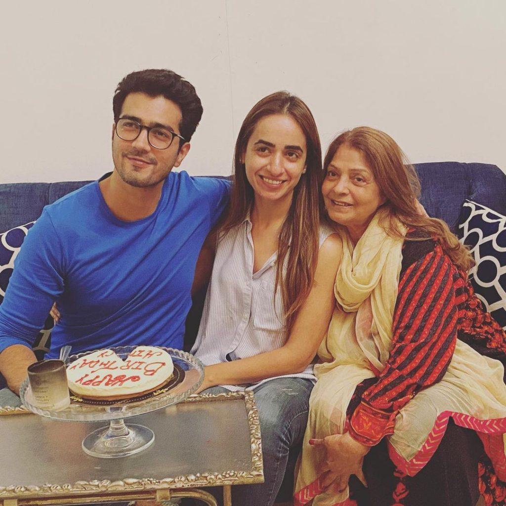 Shahzad Sheikh's Wife Hina celebrates Her Birthday With Family