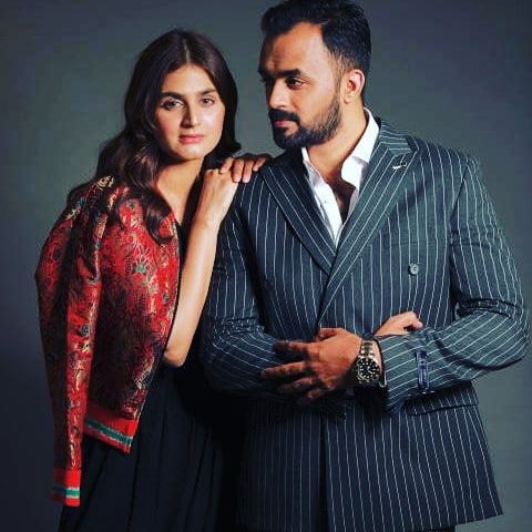Hira Mani Introduces Her Twin Brother