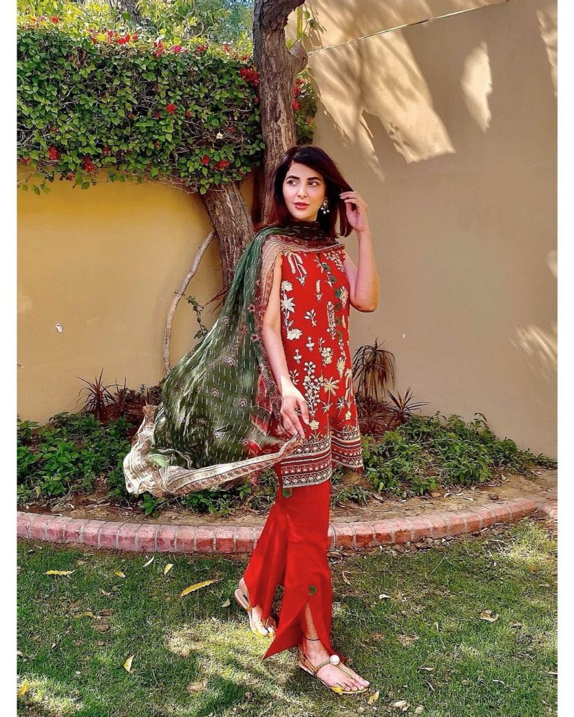 Areeba Habib Three Beautiful Looks