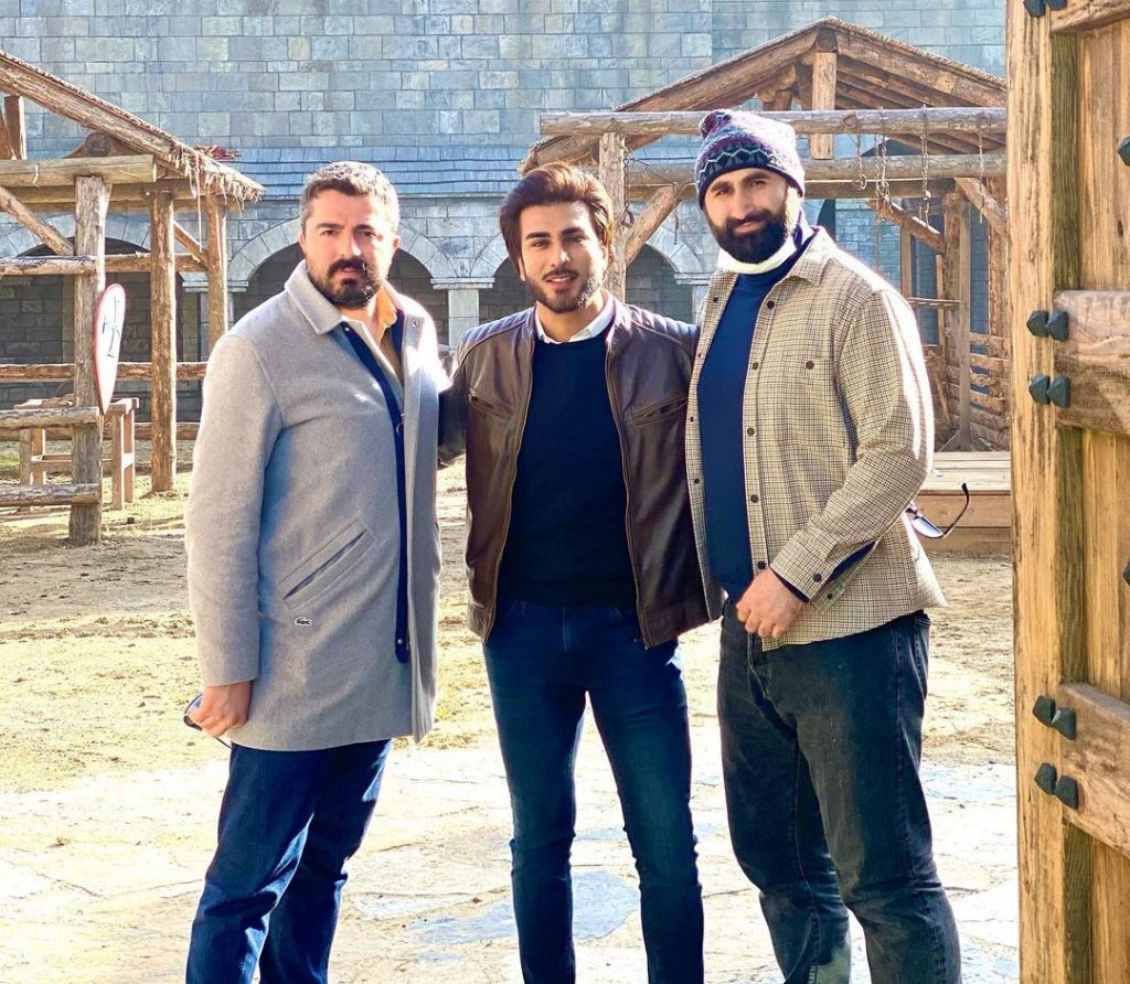Imran Abbas Thanks Turkish Stars For His Warm Welcome During His Stay In Turkey