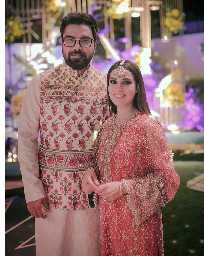 Iqra Aziz And Yasir Hussain Pictures From Recent Wedding