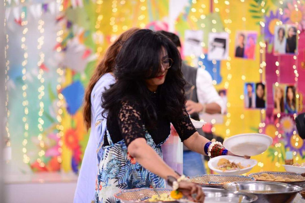 Nida Yasir Jashn-E-Baharan Celebrations - Pictures From GMP