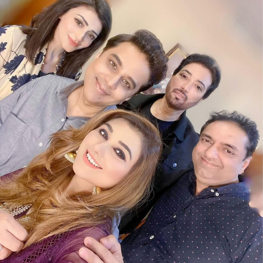 Recent Pictures Of Javeria Saud With Her Husband From Star And Style Show