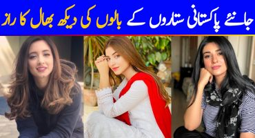 Best Hair Care Tips By Top Pakistani Celebrities