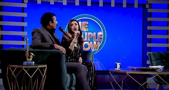 Madiha Naqvi And Faisal Sabzwari Singing Together
