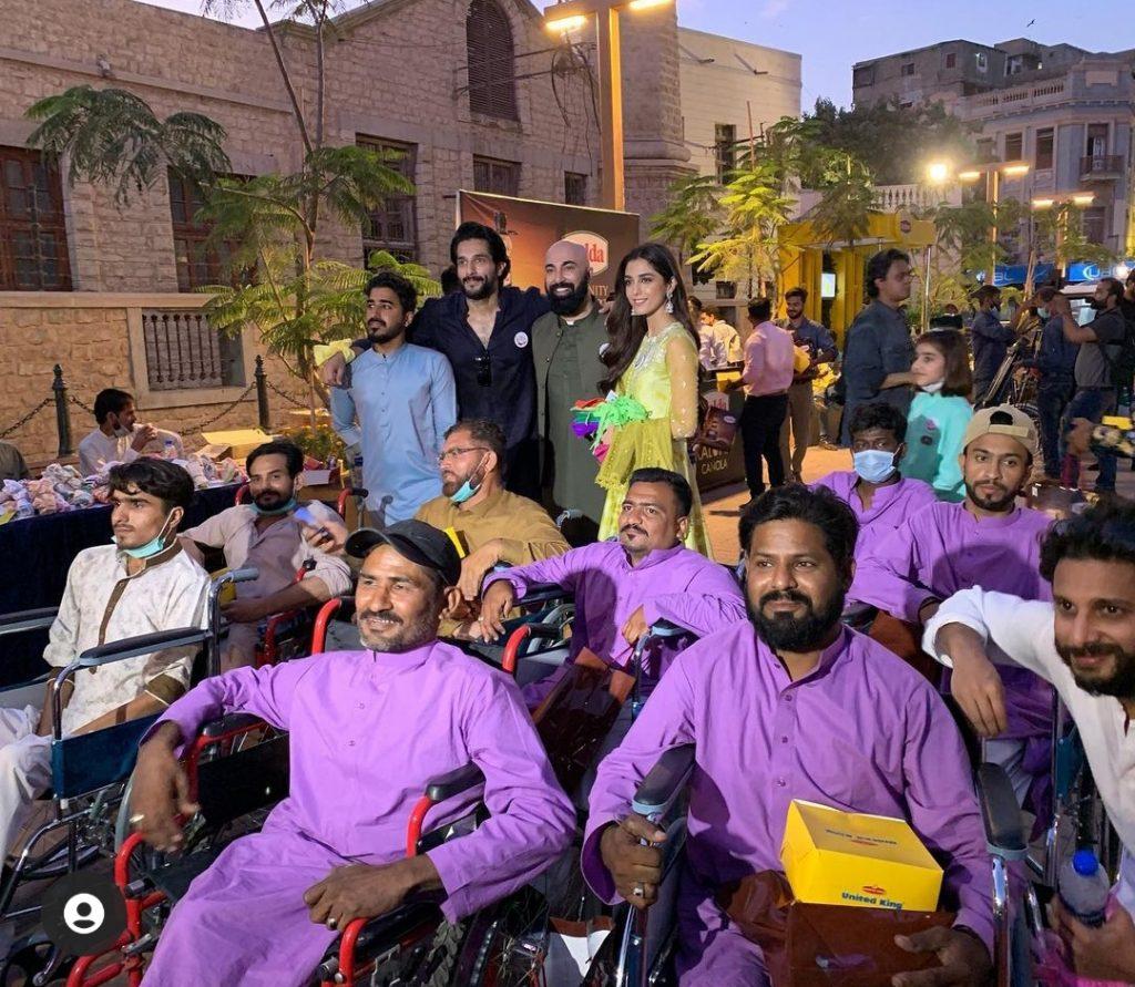 Pakistani Celebrities Spotted at Tuk Tuk March