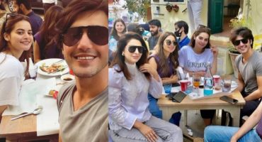 Minal Khan And Ahsan Mohsin Ikram Brunch Date With Friends