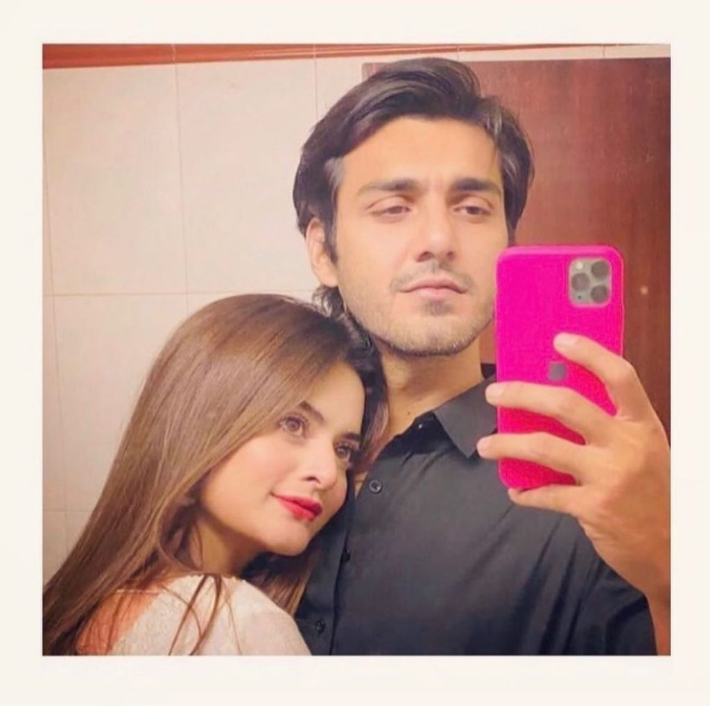 Public Reaction On A Recent Morning Selfie Of Minal Khan And Ahsan Mohsin Ikram