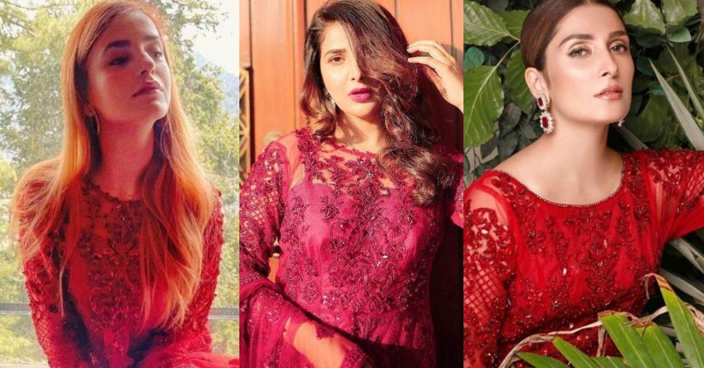 Momina Mustehsan, Ayeza Khan Or Areeba Habib - Who Wore It Better?