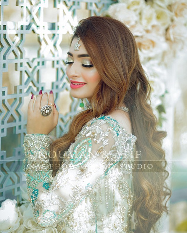 Latest Bridal Shoot Featuring Nawal Saeed