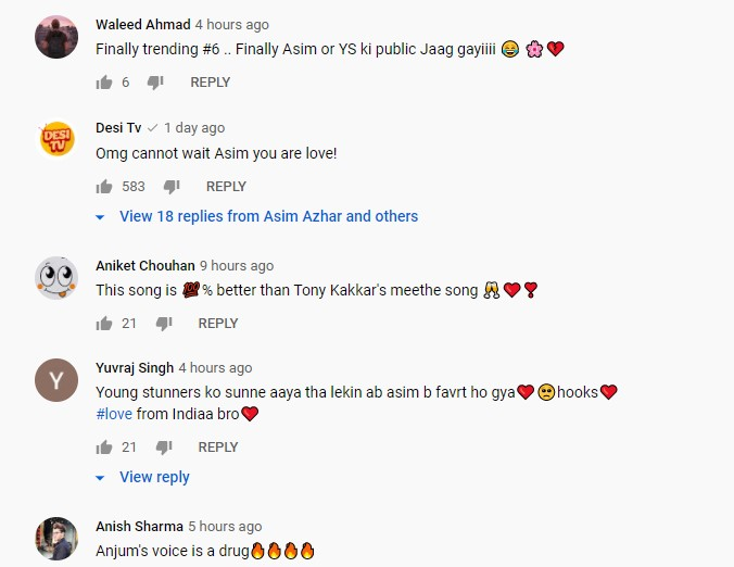 """Asim Azhar's New Song """"Yaad"""" Ft. Young Stunners Is Out Now - Public Reaction"""