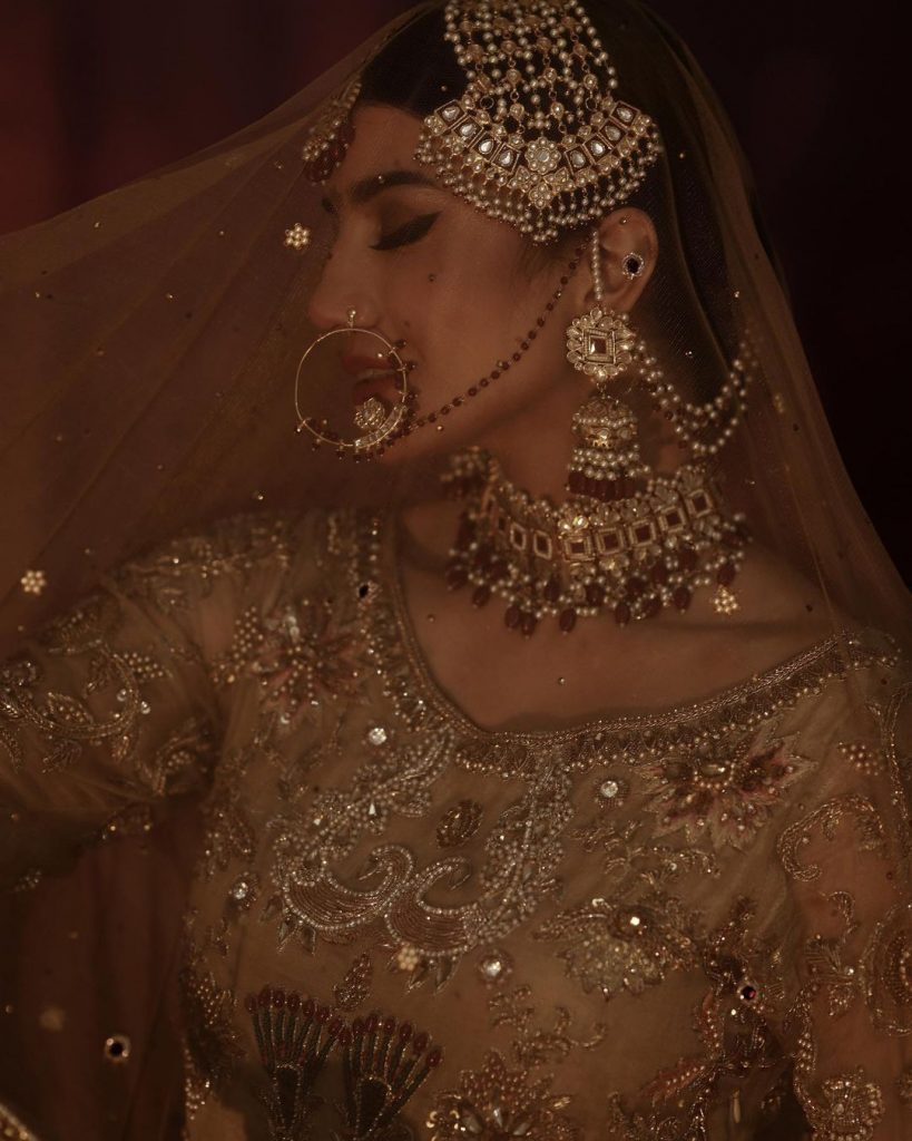 Rabia Butt Looks Breathtaking In Her Recent Bridal Shoot
