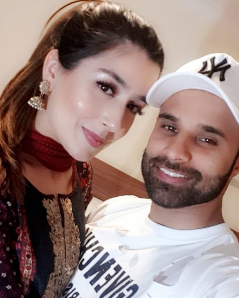 Rahim Pardesi And His Second Wife Welcome Their First child