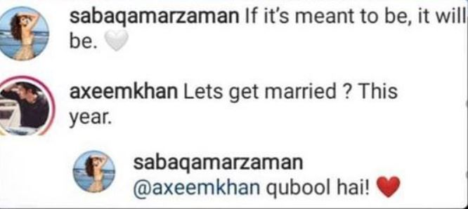 Saba Qamar Is All Set To Tie The Knot