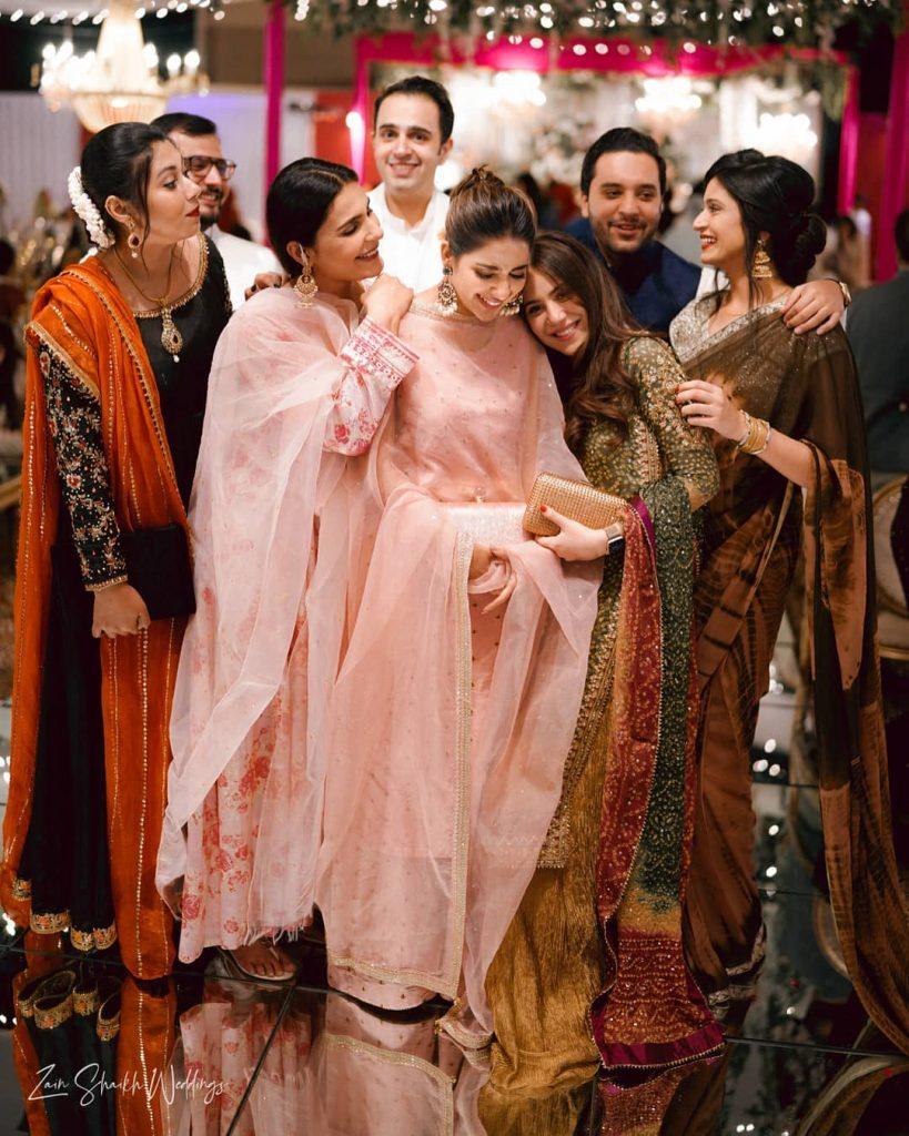 Public Reaction On Saboor Aly Third Wheeling At Umair Qazi's Wedding