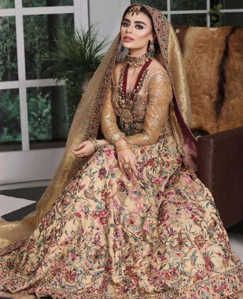 Sadaf Kanwal Exudes Royalty In Her Latest Bridal Shoot
