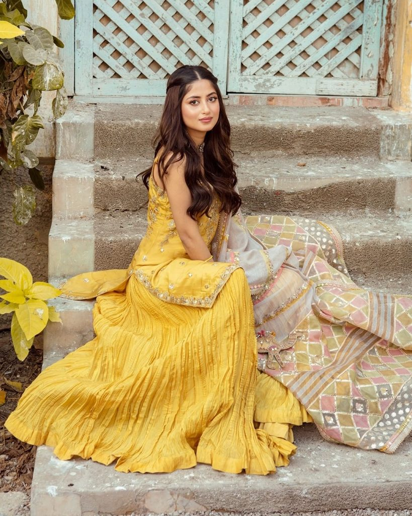 Latest Spring Festive Collection By Faiza Saqlain Featuring Sajal Aly