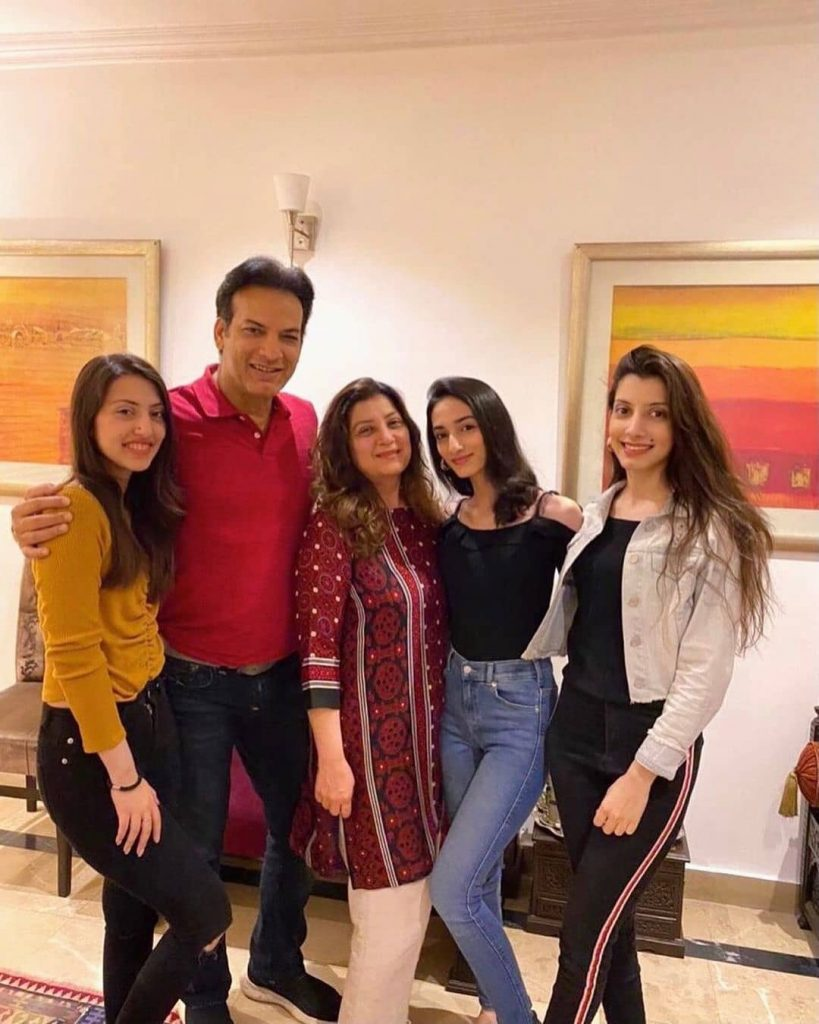 Saleem Sheikh Celebrating Birthday With Family - Adorable Pictures