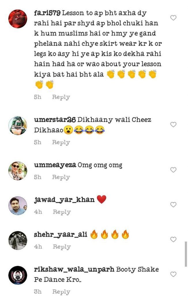 Netizens' Criticism On Sana Fakhar's Latest video