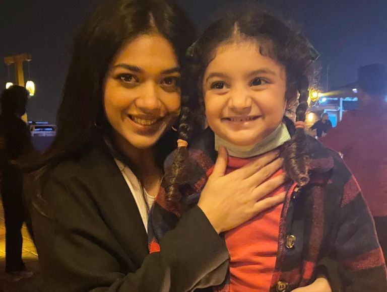 Adorable Family Pictures Of Sanam Jung