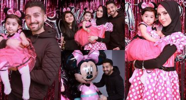 Sham Idrees Celebrating First Birthday Of Daughter Sierra Idrees