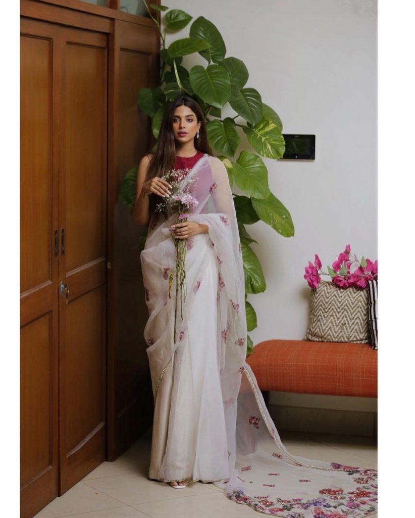 Sonya Hussayn Flaunts In A Gorgeous Saree