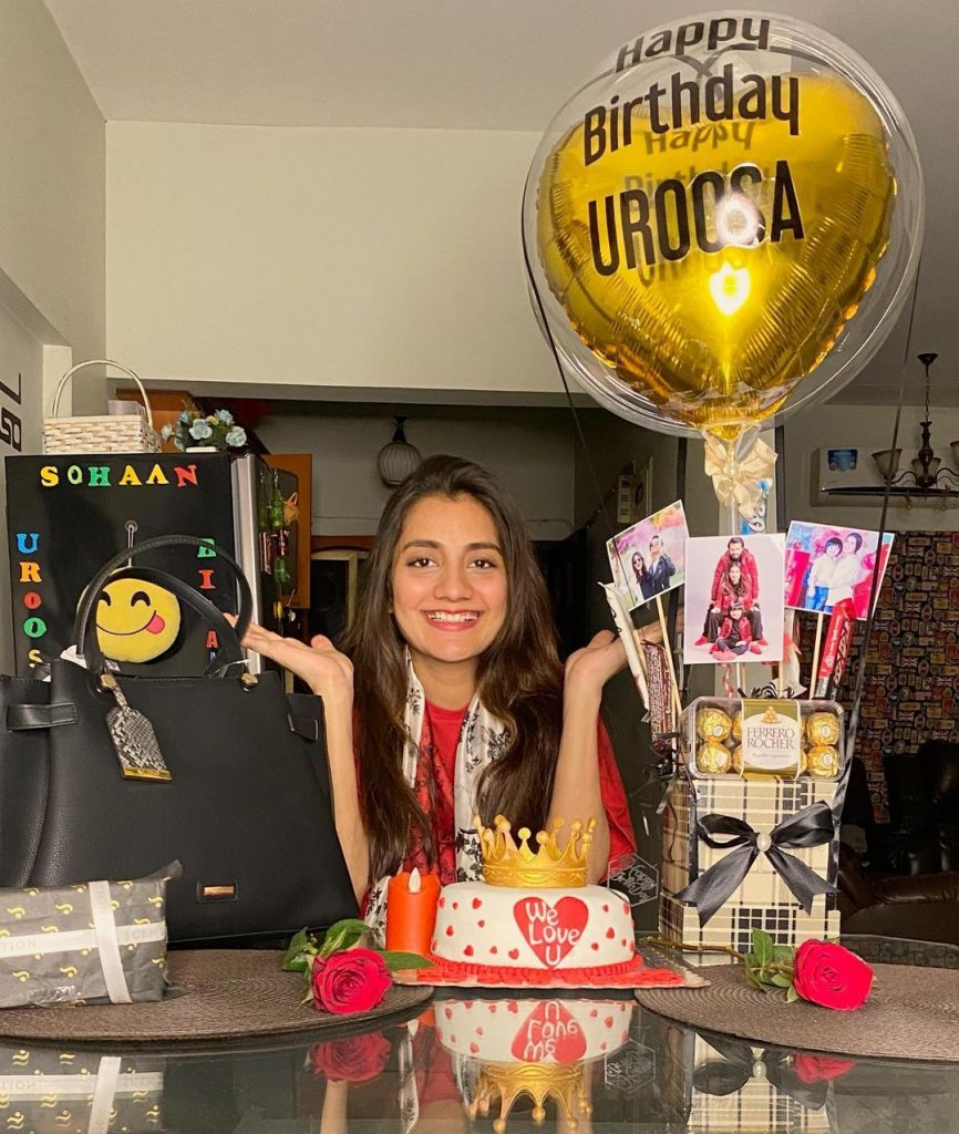 Uroosa Qureshi Celebrates Her Birthday
