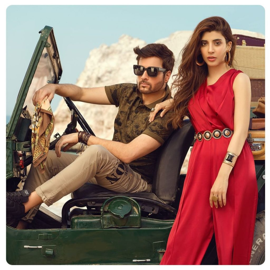 Latest Collection Of ONE Featuring Urwa Hocane And Mikaal Zulfiqar