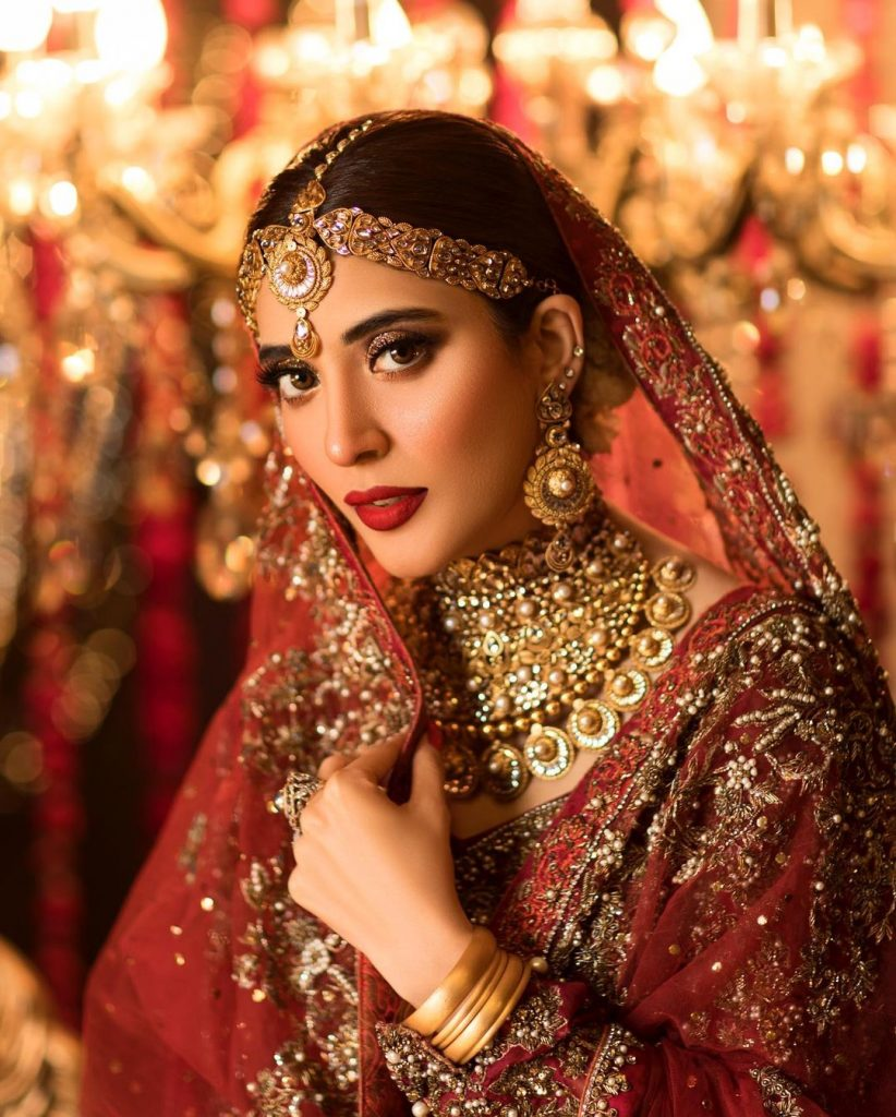 Urwa Hocane Stuns In The Traditional Bridal Look