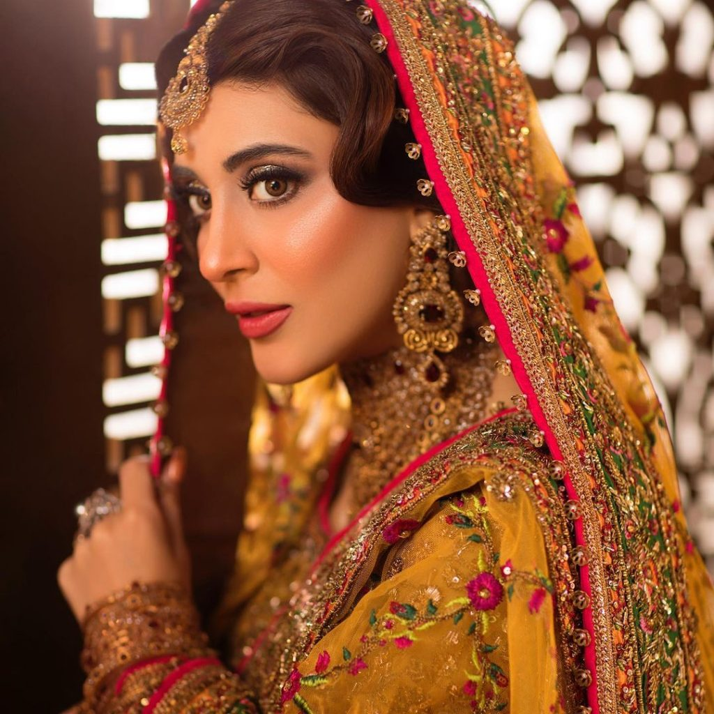 Urwa Hocane Looks Regal In A Gorgeous Mehndi Attire