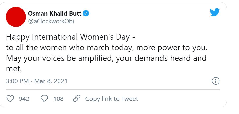 Pakistani Celebrities Share Their Thoughts on Women's Day