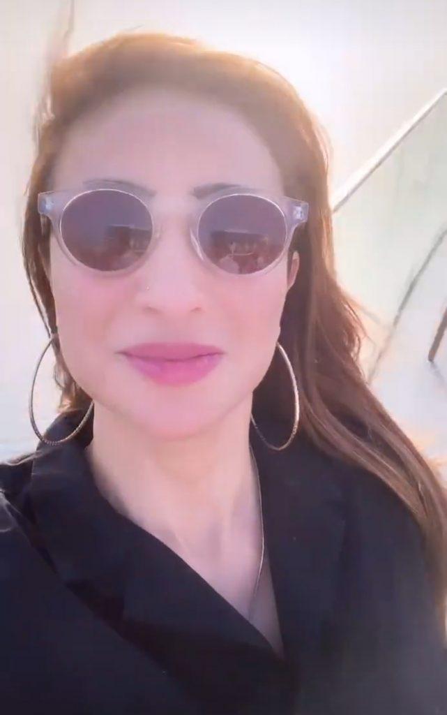 Anoushay Ashraf Vacationing in Dubai