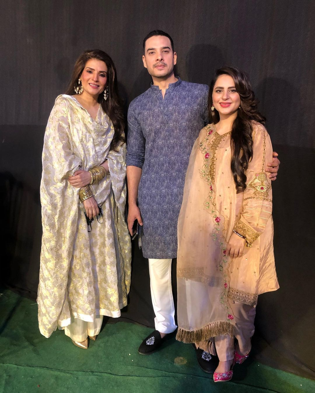 Beautiful Pictures of Celebrities from Eid Show 2021 Recording