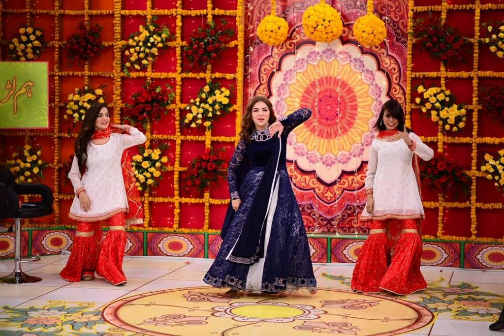 Natasha Ali Beautiful Dance Performance From Good Morning Pakistan