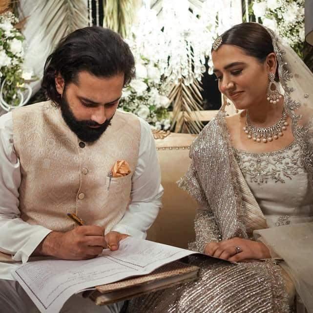 Mansha Pasha And Jibran Nasir Have Tied The Knots