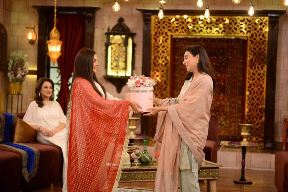 Bushra Ansari Talks About Her Terms With Laila Wasti's Parents