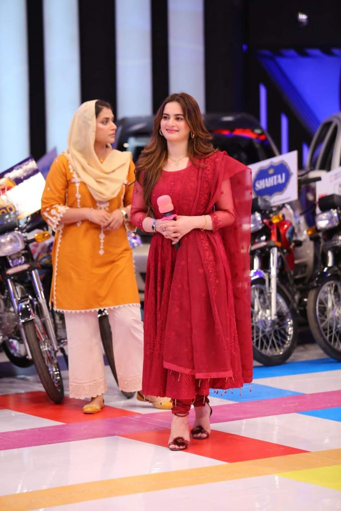 Aiman Khan and Muneeb Butt Pictures from JPL