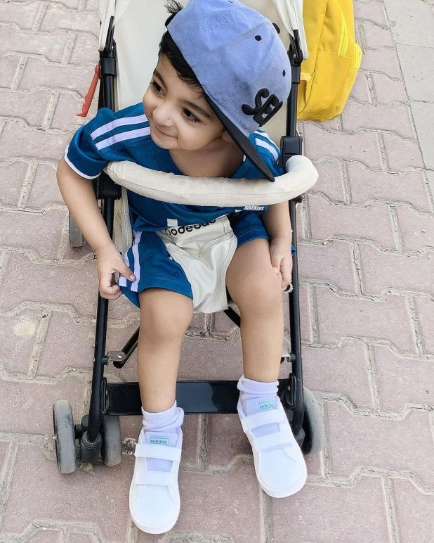 Actress Fatima Sohail with her Son - Latest Adorable Pictures