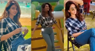 Saba Qamar Recreational Time With Family