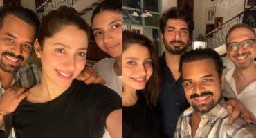 Mahira and Fawad Spotted At Adnan Ansari's Birthday