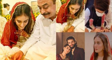 Khaani Famed Shehzeen Rahat Tied The Knot