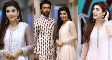 Urwa Hocane and Ali Rehman Khan Spotted At Jeeto Pakistan- JPL