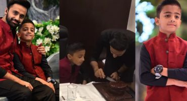 Waseem Badami Son's Birthday Celebration in Ramadan