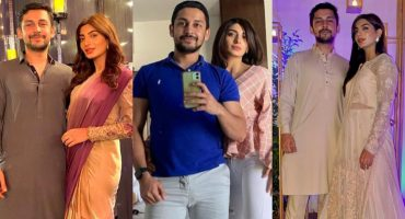 Maryam Ansari Beautiful Pictures With Husband Owais Khan