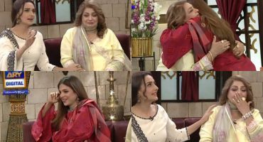 Momal Sheikh's Mother & Sonya Hussyn Got Emotional In GMP Shan-e-Suhoor