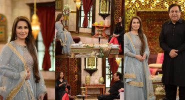 Reema Khan & Sohail Ahmad Pictures From GMP Shan-e-Suhoor