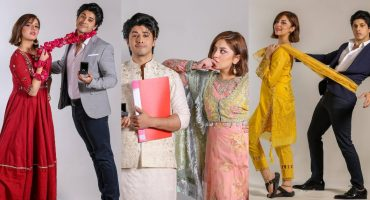 Alizeh Shah And Danyal Zafar's Promo Shoot For Tanaa Banaa
