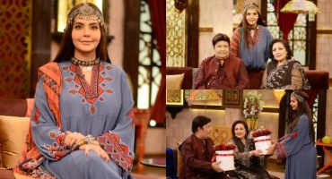 Beautiful Pictures from Nida Yasir New Ramazan Show Shan e Suhoor